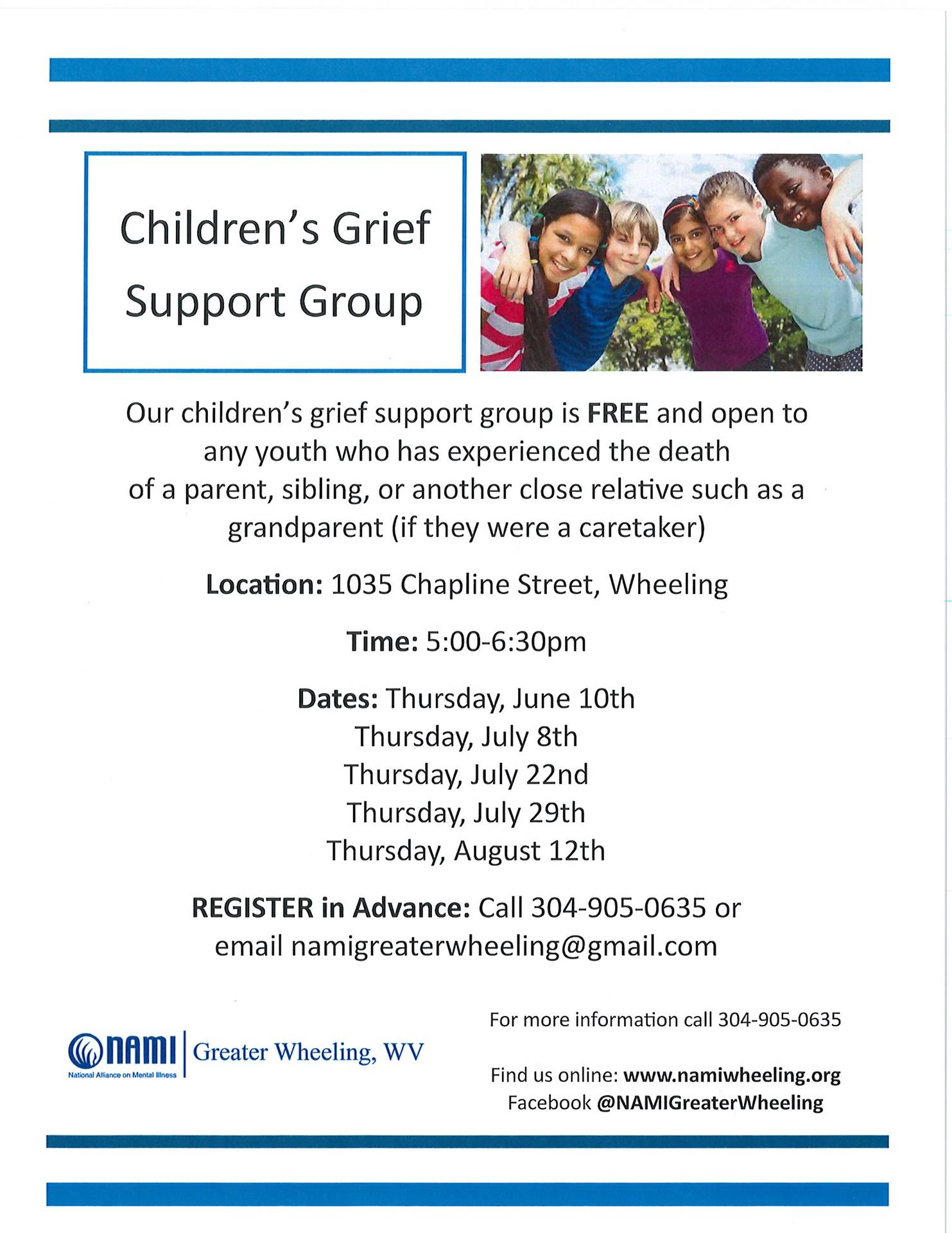 Children's Grief Support Group