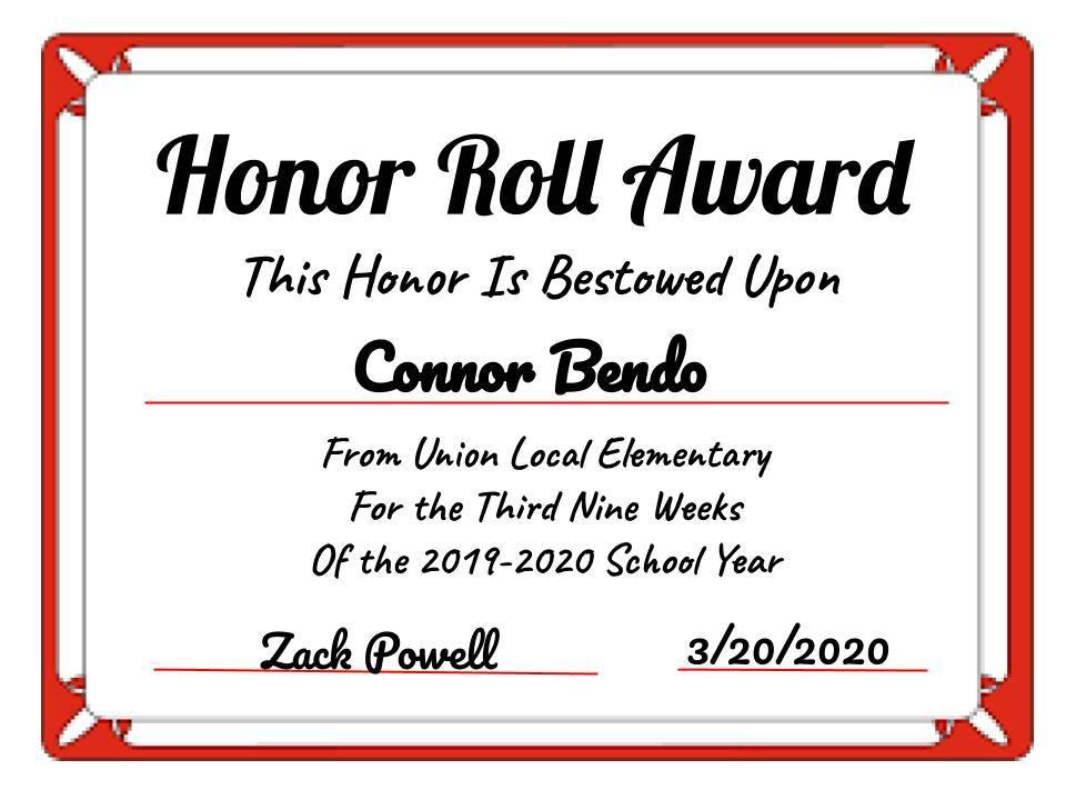 Connor Bendo