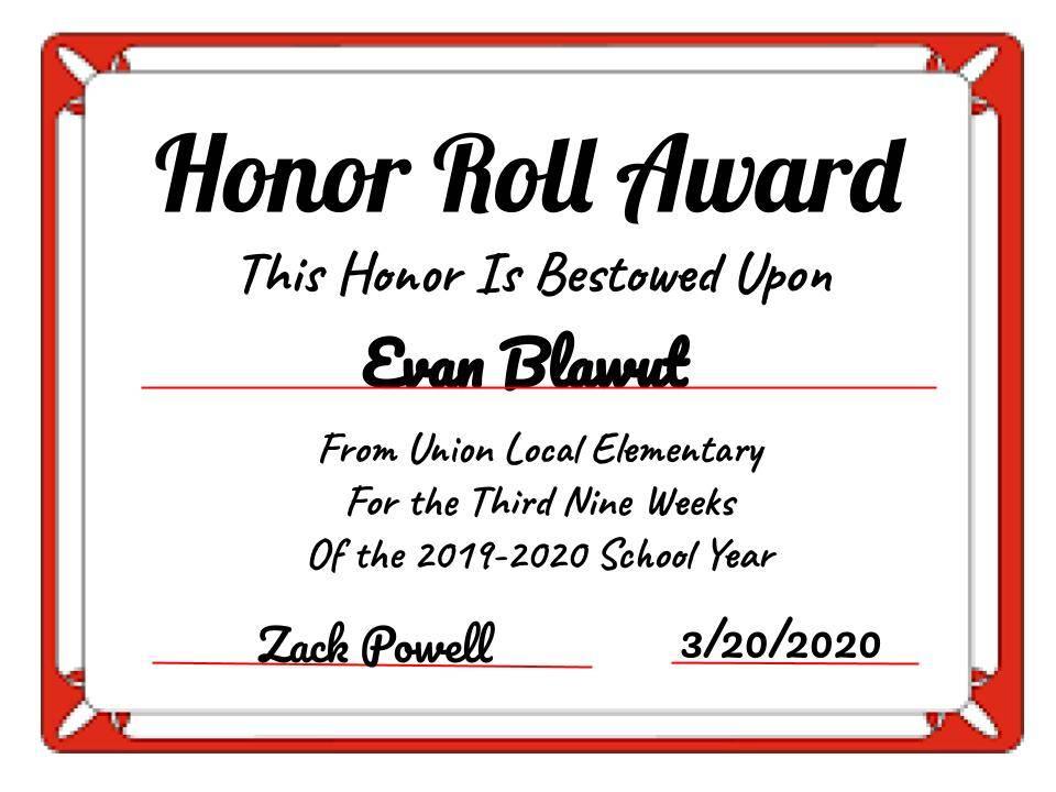 Evan Blawut
