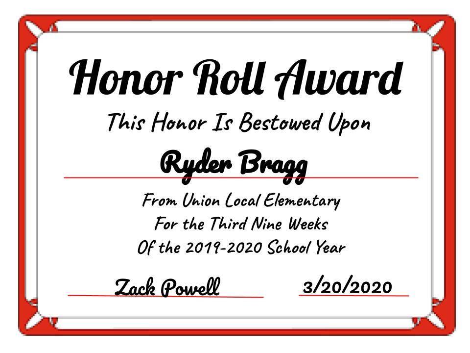 Ryder Bragg