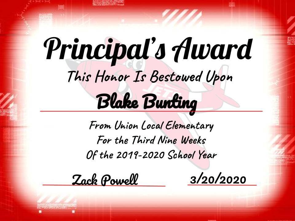 Blake Bunting