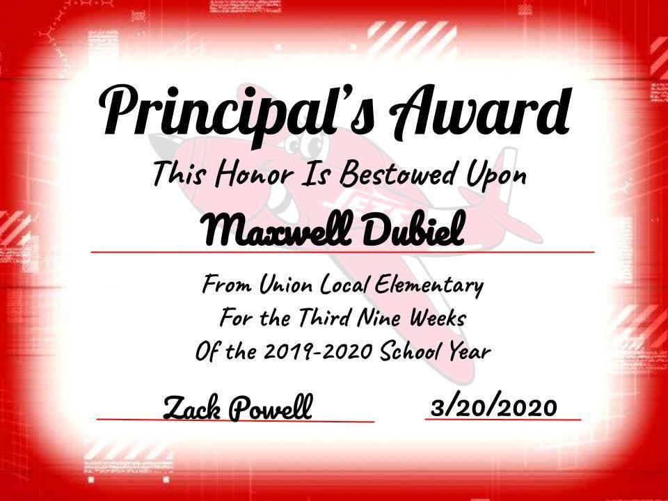 Maxwell Dubiel