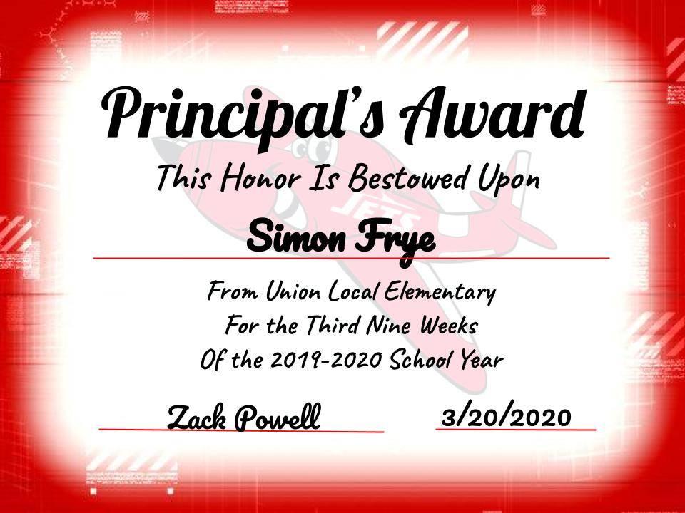 Simon Frye