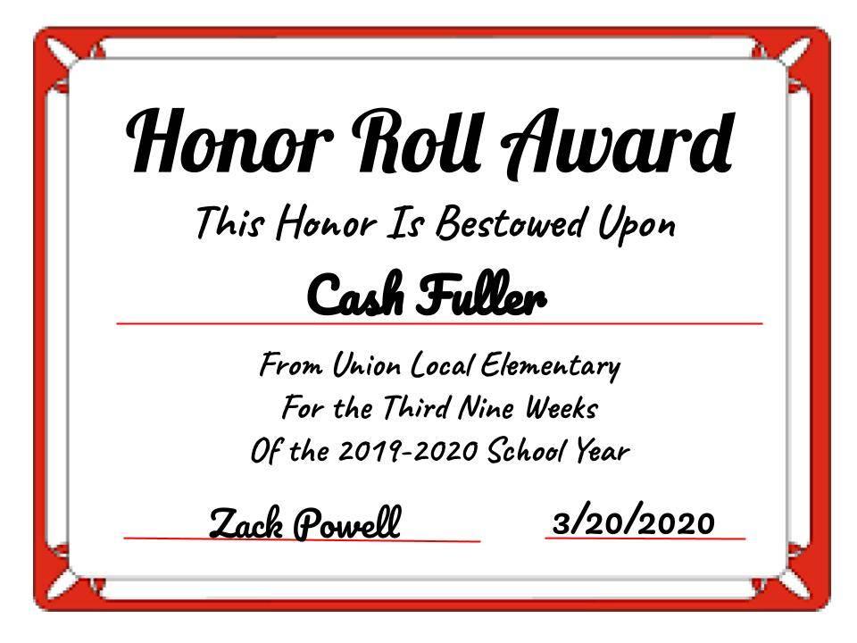 Cash Fuller