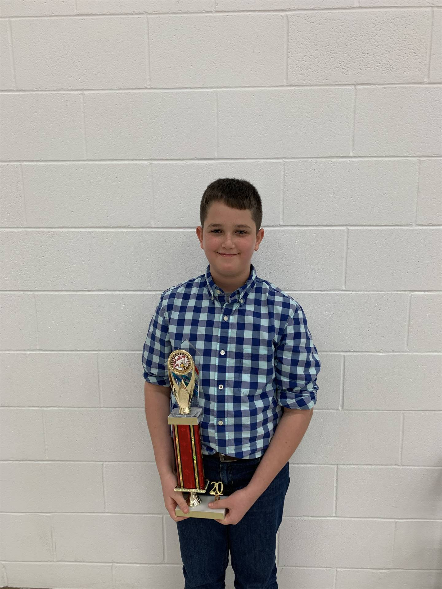 First place is 6th grader Clay Utter