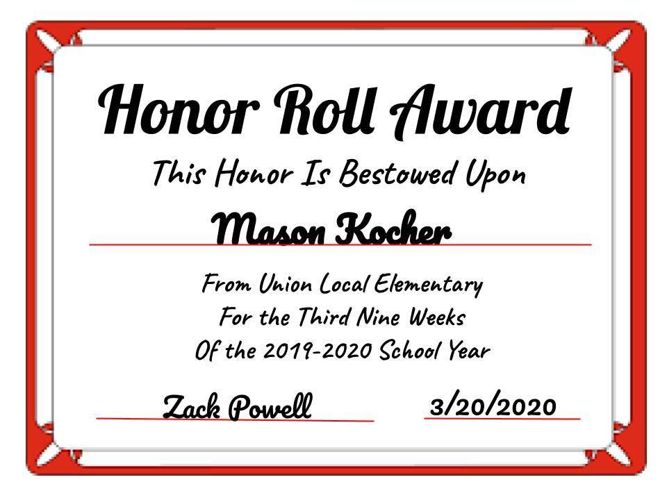 Mason Kocher