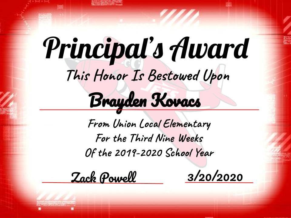 Brayden Kovacs