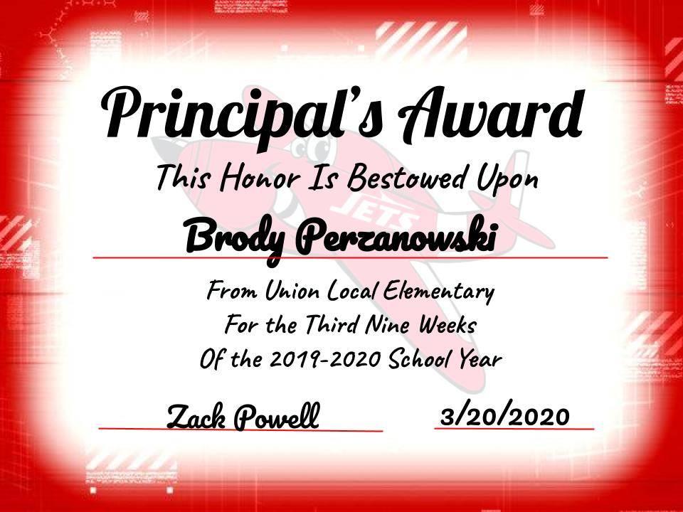 Perzanowksi, Brody