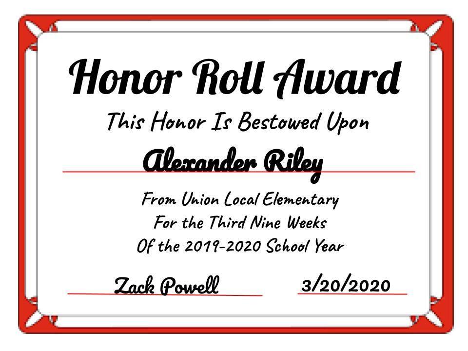Alexander Riley