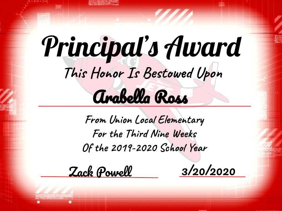 Ross, Arabella