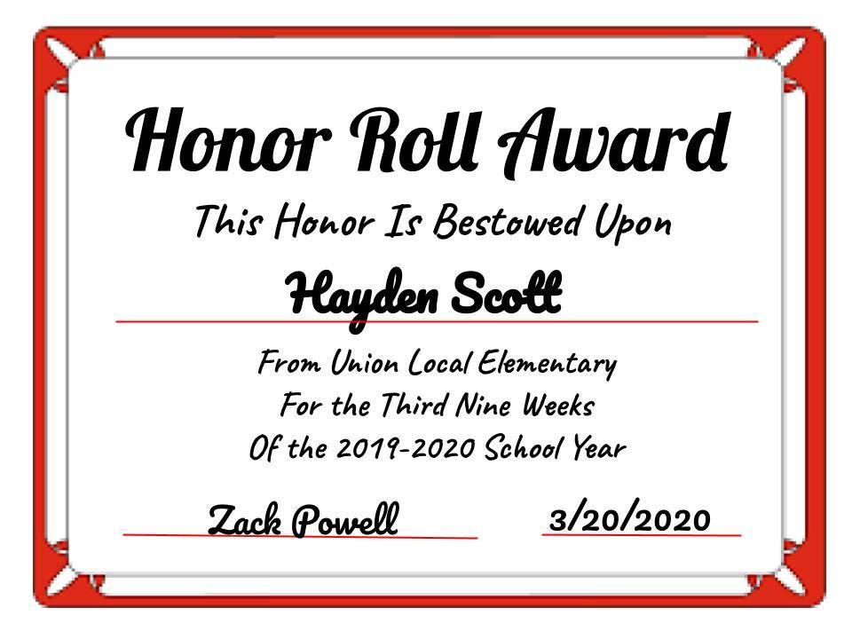 Hayden Scott