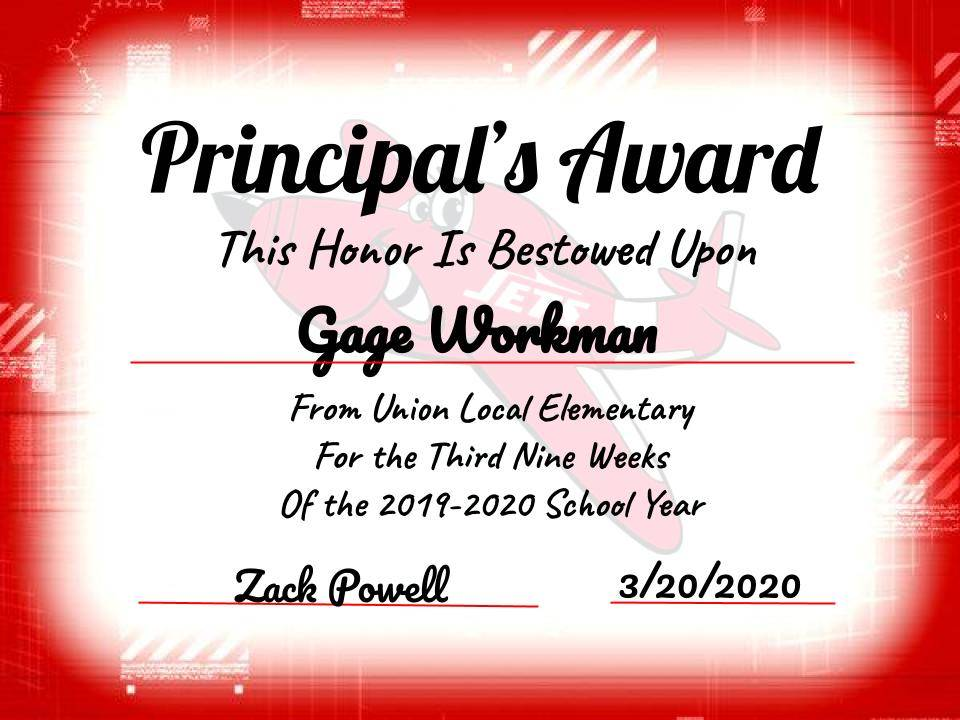 Gage Workman