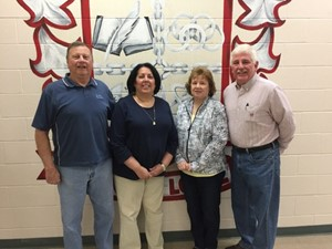 Left to right: C.L. Strahl, President| Vicki Loveday, Treasurer | Sharon Magnani, Secretary | Rich Kidd, Vice President